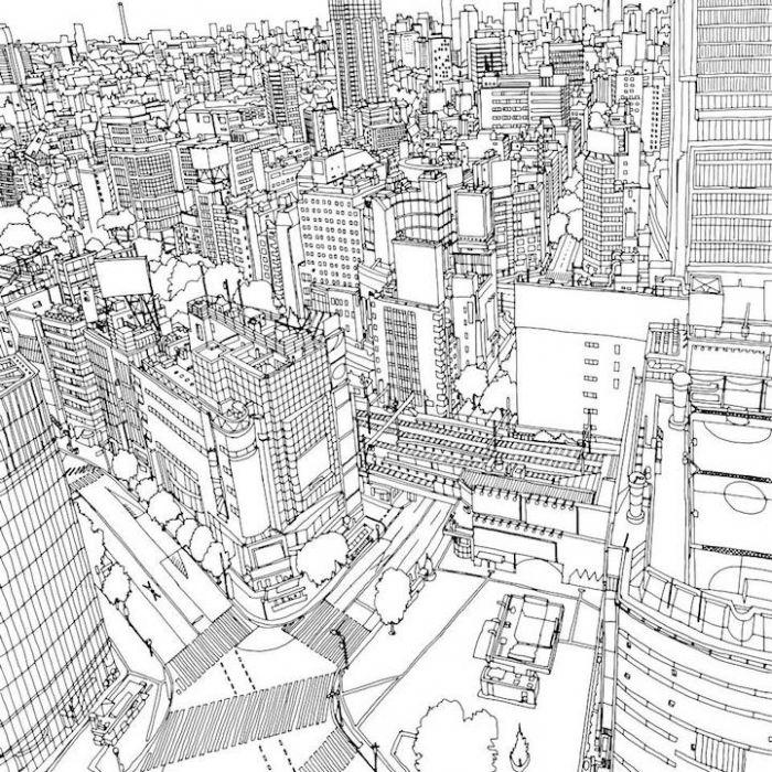 城市背景素材简