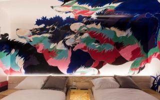 这个机构邀请艺术家们在旅馆墙上作画 很炫酷