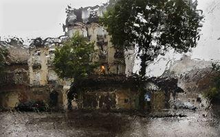 摄影师Christophe Jacrot镜头下雨中的城市
