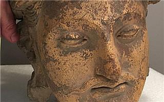 联邦探员扣押即将在亚洲艺术周上拍卖的古代雕塑头像