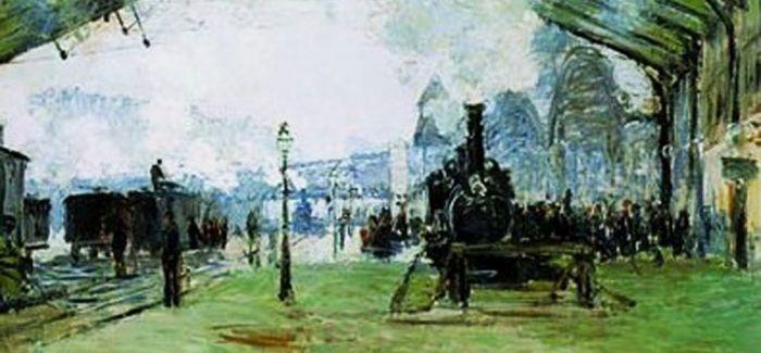 莫奈曾4次前往英国伦敦并深深迷上了伦敦的浓雾