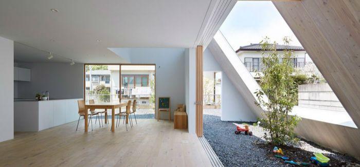 宇都宫之家:包罗万象的屋顶框架露台