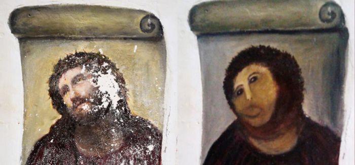 令人傻眼的西班牙文物修复术