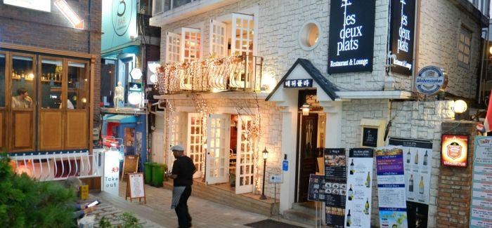 首尔梨泰院古着家具一条街  愈久弥新