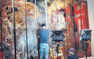 """东南亚和欧洲作品并列 新加坡国家美术馆""""重构现代主义"""""""