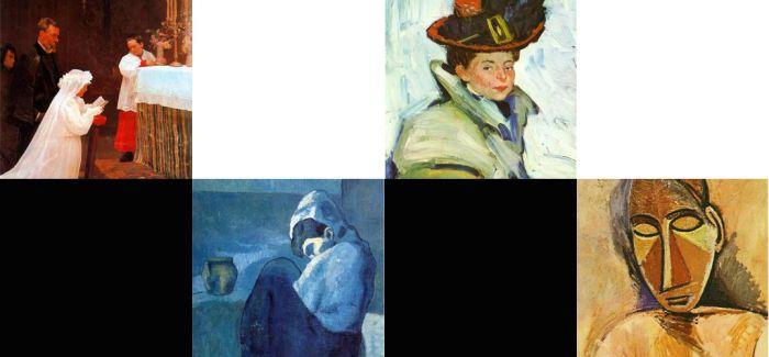 最全的毕加索作品集合 一切都是矛盾(上)