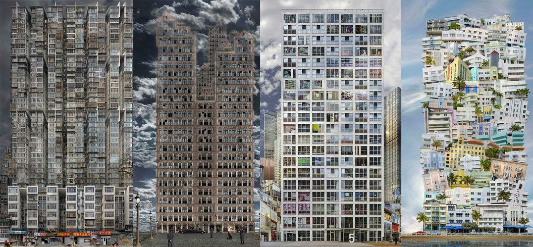 墙之密林:都市巴别塔