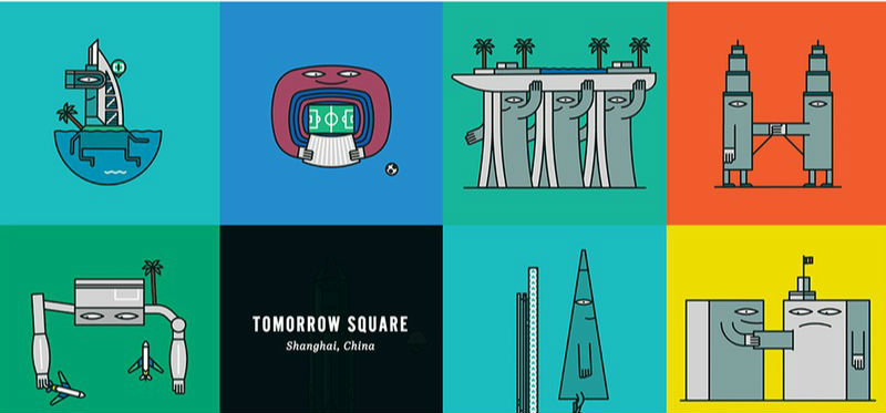 20座被赋予生命的全球著名建筑  形象古怪而有趣