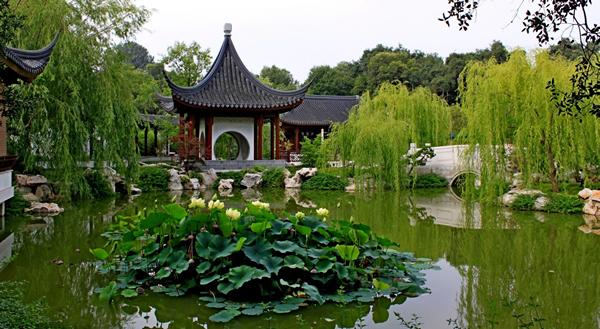 植物园中的中国园林