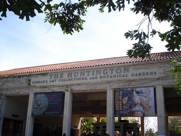 亨廷顿图书馆正门