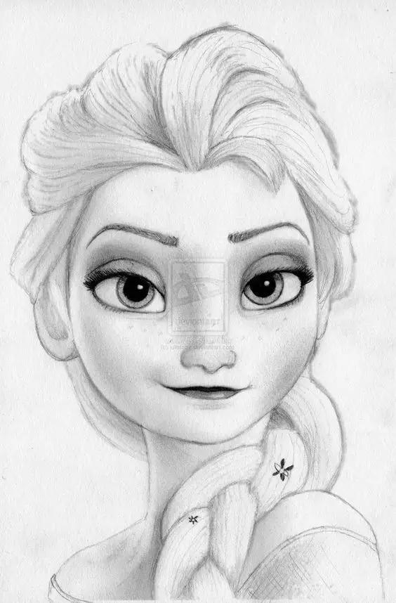 干货:迪士尼经典铅笔手稿
