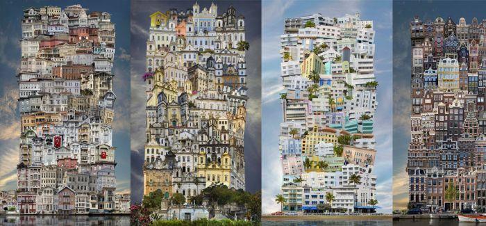 Jean-François Rauzier:Babel(巴别塔)系列摄影作品