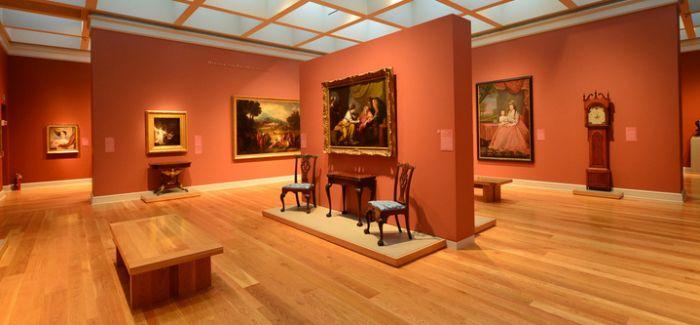世界上最令人难忘的花园式图书馆增设展示美国艺术空间