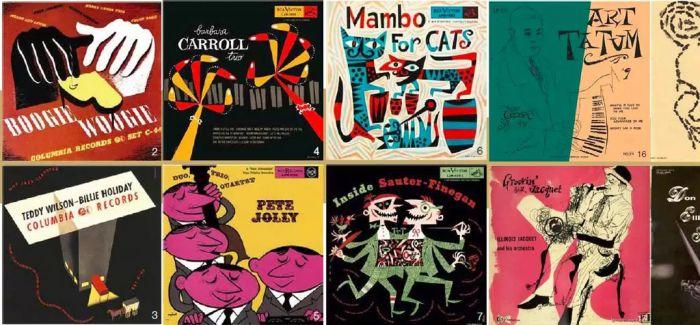 20 世纪50、60 年代美国爵士乐专辑封面设计