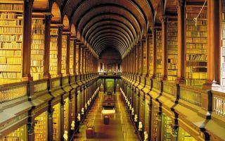 爱尔兰最古老图书馆:在65米的长廊中感受历史沉淀下的书香气