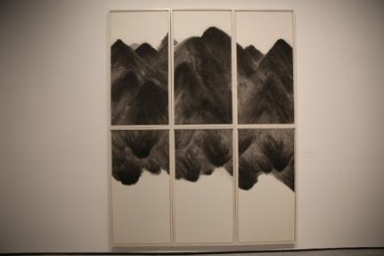 《遗忘之海199》 70×140cm×6纸本水墨