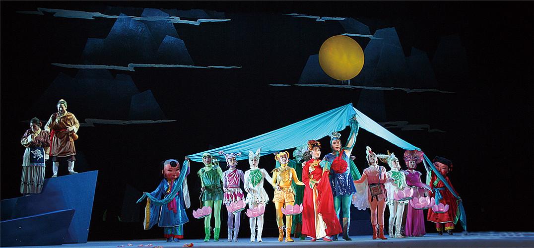 中国儿童艺术剧院建院60周年 新版《马兰花》含苞欲放