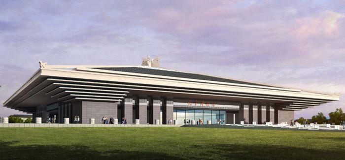 孔子博物馆主体封顶将建山东自然博物馆