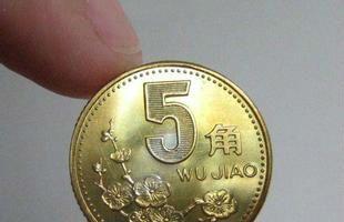 梅花5角硬币成收藏黑马 最高一枚50元