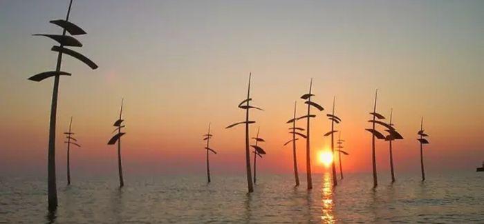 Janis Straupe:他把木雕搬到了大海