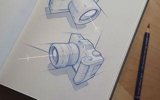 德国工业设计师Marius Kindler的工业设计草图