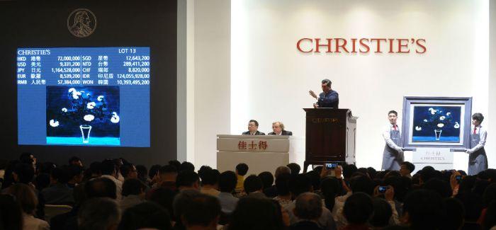 佳士得重量级拍品亮相上海 意在吸引中国买家