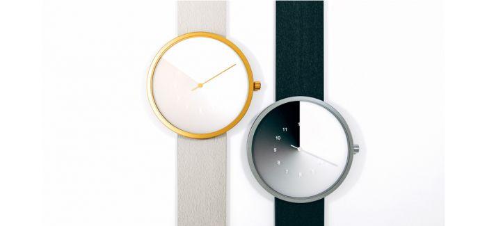 看起来很熟悉很传统 但是这个手表 它没有时针