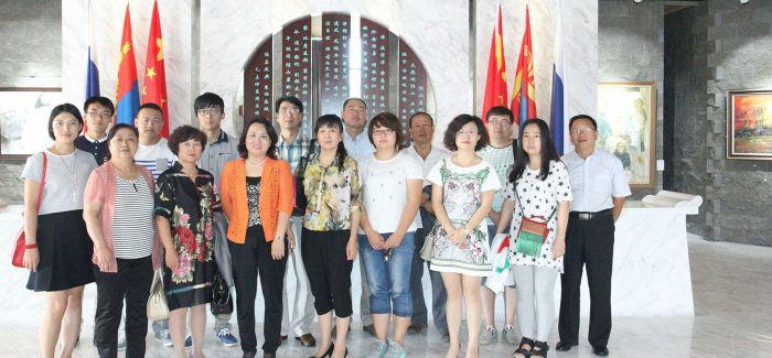 首届中俄蒙国际文化交流书画展开幕