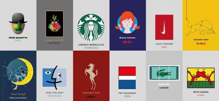 如果品牌LOGO是由著名艺术家设计的