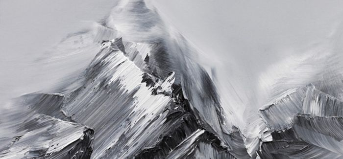 Conrad Jon Godly绘画作品:山脉