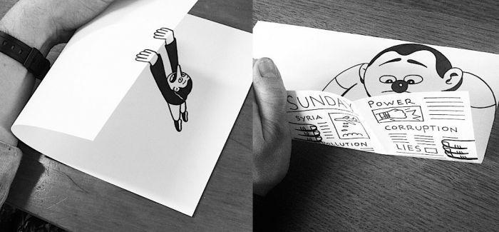 Husk Mit Navn:有趣的纸上立体插画艺术