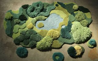 这是一张地毯 让你在家也能置身森林