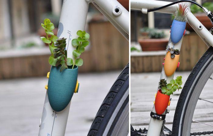 春季骑车踏青 这个车载小花瓶让你把花香随身带在身边!