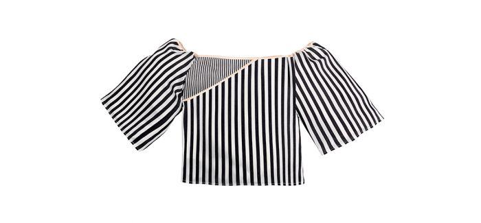 条纹这么普及  还可以把它专门做成一个服装品牌?