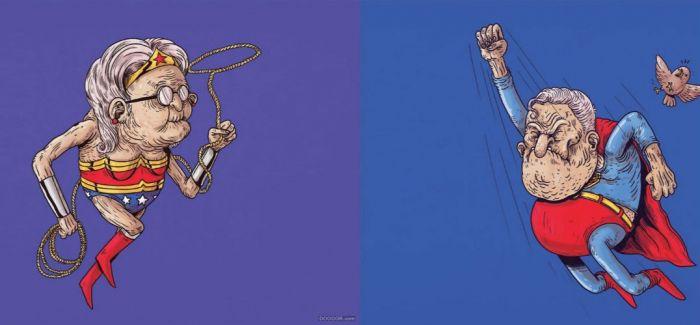 英雄暮年:五十年后的超级英雄
