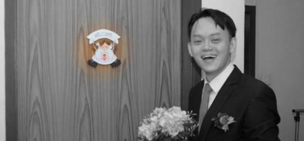 开开心心办喜事 结果婚礼照给拍成遗照了