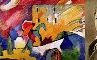 王书民:色彩与音乐共振 抽象画大师康定斯基