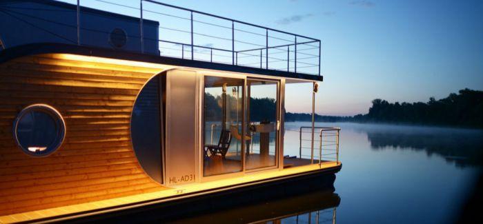 创新游艇 鹦鹉螺船屋