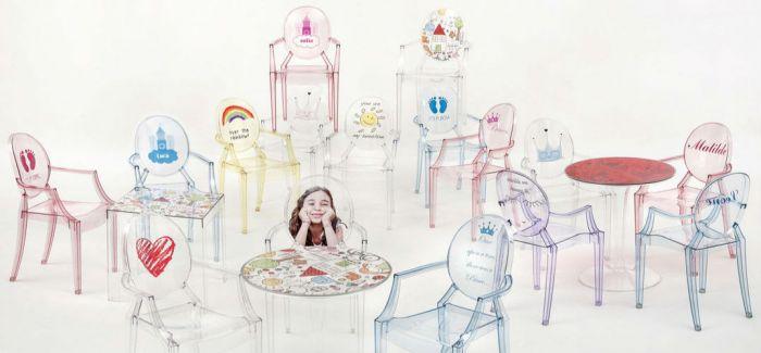 Kartell 推出 52 年来首个针对儿童的家具系列