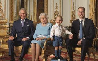 英女王庆生 四世同堂照变邮票俘获全英国人的心