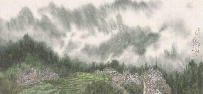 人物   乡土情怀 笔墨新境——李翔的山水画