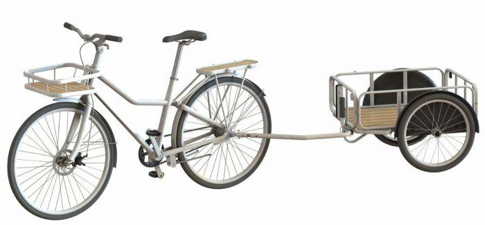宜家要卖自行车了 还设计的很特别