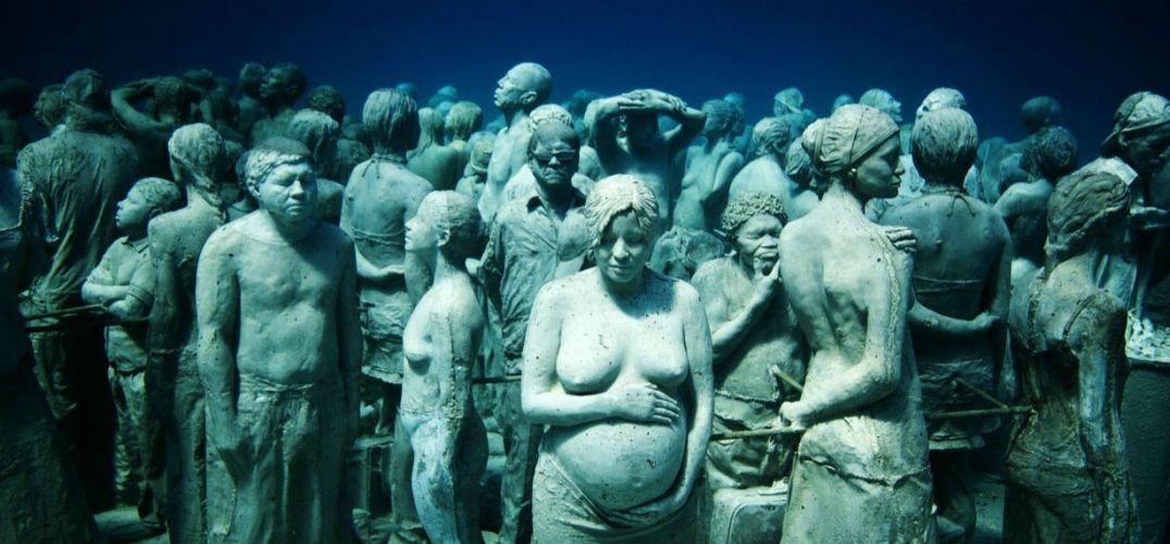 花样姐姐没去的坎昆水下雕塑博物馆才是当地最