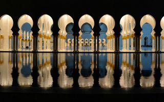 建筑:谢赫扎耶德大清真寺