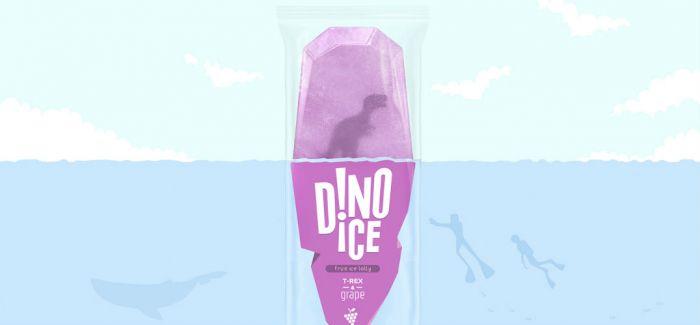 颜值爆表的 DINO ICE 冰棒:解救恐龙