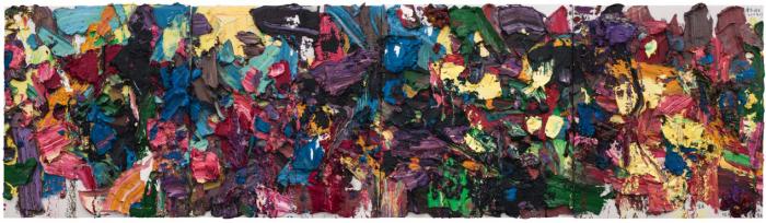 春节将至(四联),  2015年,  布面油画, 180 x 160 cm x 4