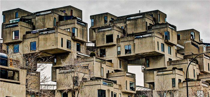 地标性建筑:加拿大 Habitat 67 集合住宅