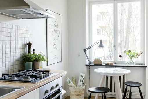 设计师EMMA WALLMÈN的北欧白色调风格室内设计
