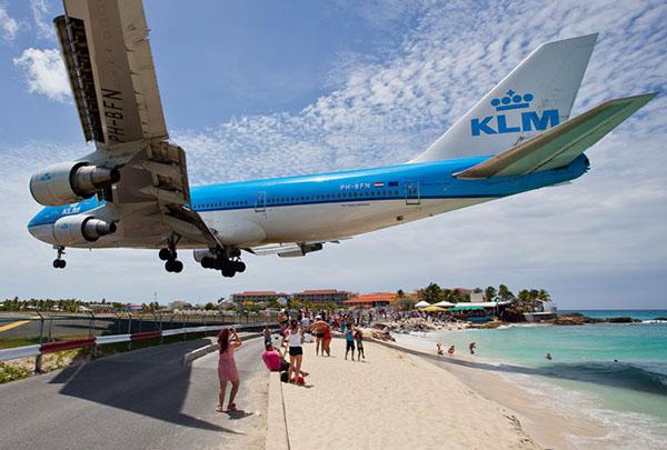 第八名:圣马丁岛机场