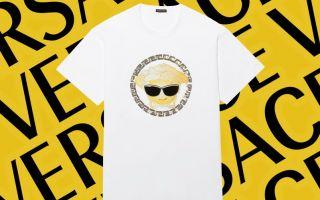 Versace推出emoji T恤 联动的品牌动作蛮好玩